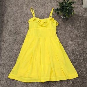 Yellow 2B Bebe dress